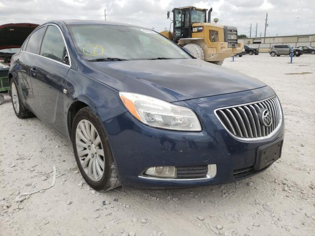 Salvage cars for sale from Copart Haslet, TX: 2011 Buick Regal CXL