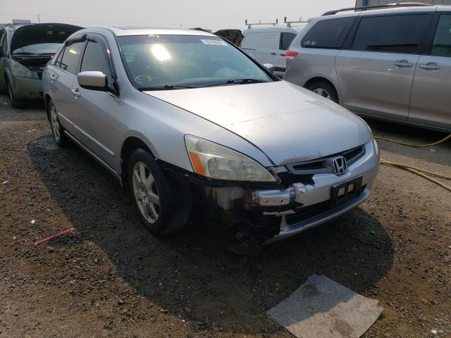 Salvage cars for sale from Copart Helena, MT: 2005 Honda Accord EX