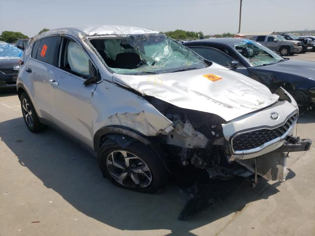 Salvage cars for sale from Copart Grand Prairie, TX: 2021 KIA Sportage L