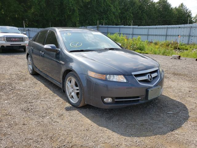 Salvage cars for sale from Copart London, ON: 2007 Acura TL