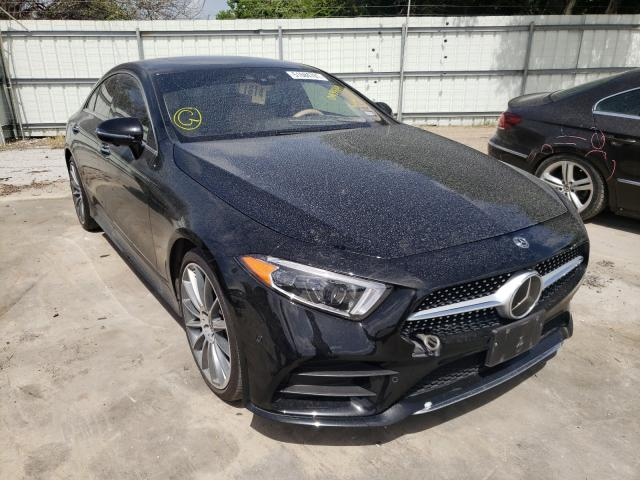 Salvage cars for sale from Copart Corpus Christi, TX: 2019 Mercedes-Benz CLS 450