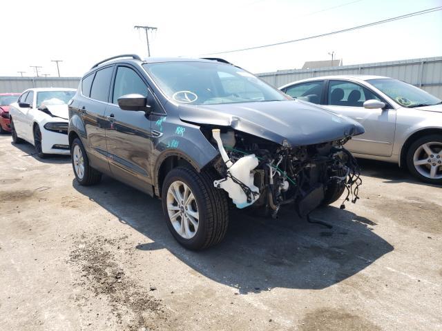 Vehiculos salvage en venta de Copart Dyer, IN: 2017 Ford Escape SE