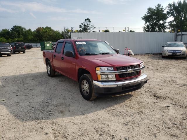 Salvage cars for sale from Copart Hampton, VA: 2005 Chevrolet Colorado