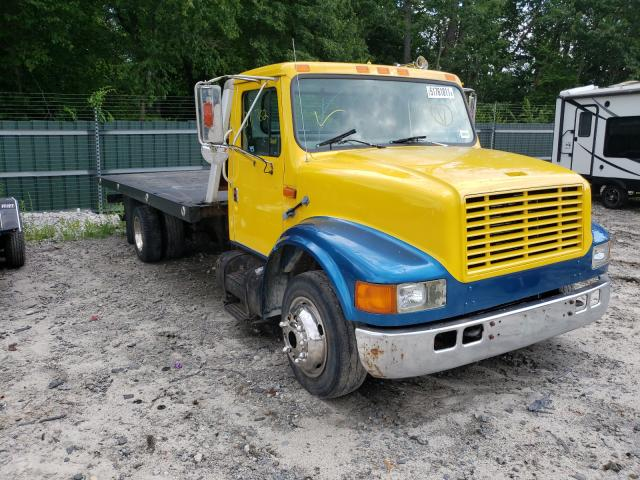 Salvage trucks for sale at Candia, NH auction: 1997 International 4000 4700