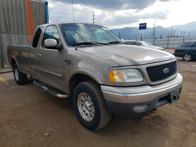 Salvage cars for sale from Copart Colorado Springs, CO: 2002 Ford F150