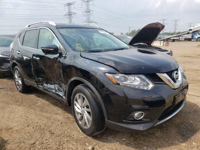 Salvage cars for sale at Elgin, IL auction: 2014 Nissan Rogue S