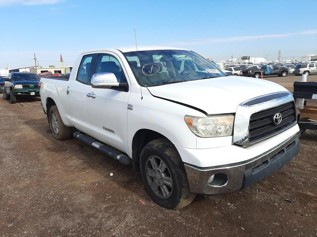 Salvage cars for sale from Copart Phoenix, AZ: 2008 Toyota Tundra DOU