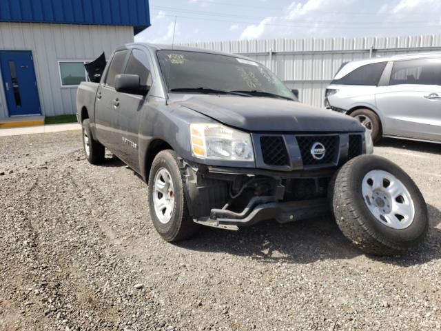 Vehiculos salvage en venta de Copart Houston, TX: 2007 Nissan Titan XE