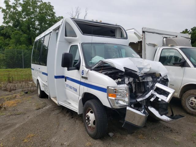 Ford E450 salvage cars for sale: 2017 Ford E450