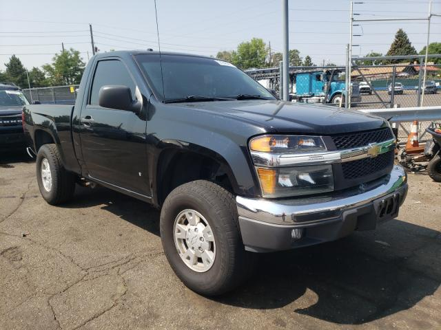 Salvage cars for sale from Copart Denver, CO: 2007 Chevrolet Colorado