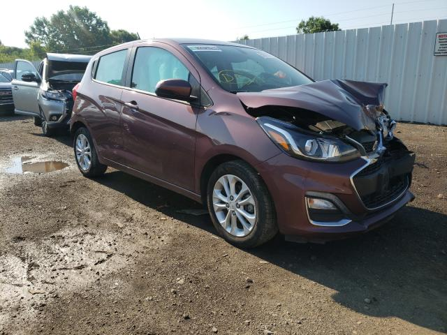 Salvage cars for sale from Copart Columbia Station, OH: 2020 Chevrolet Spark 1LT