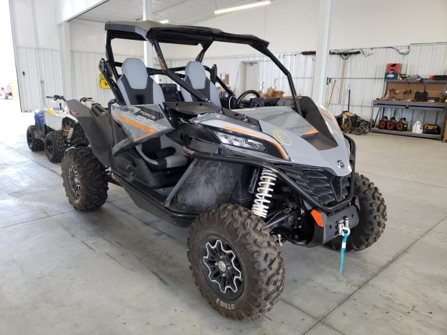 Salvage cars for sale from Copart Avon, MN: 2021 Can-Am Zforce 950