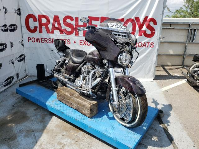 Salvage cars for sale from Copart Anthony, TX: 2014 Harley-Davidson Flhxs Street