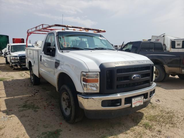 Salvage cars for sale from Copart Albuquerque, NM: 2008 Ford F350 SRW S