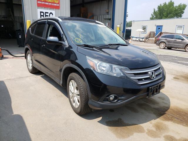 Vehiculos salvage en venta de Copart Duryea, PA: 2013 Honda CR-V EXL