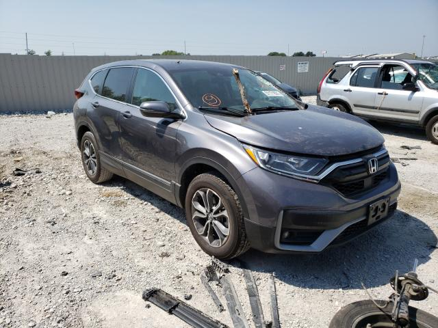 Salvage cars for sale from Copart Greenwood, NE: 2020 Honda CR-V EX