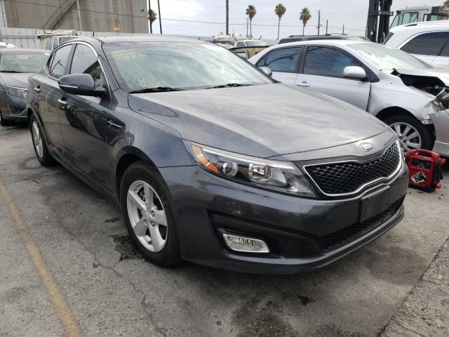 Salvage cars for sale from Copart Wilmington, CA: 2015 KIA Optima LX