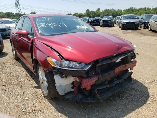 Salvage cars for sale from Copart Pekin, IL: 2013 Ford Fusion SE