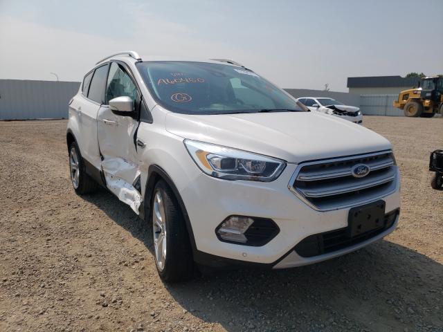 Vehiculos salvage en venta de Copart Bismarck, ND: 2017 Ford Escape Titanium