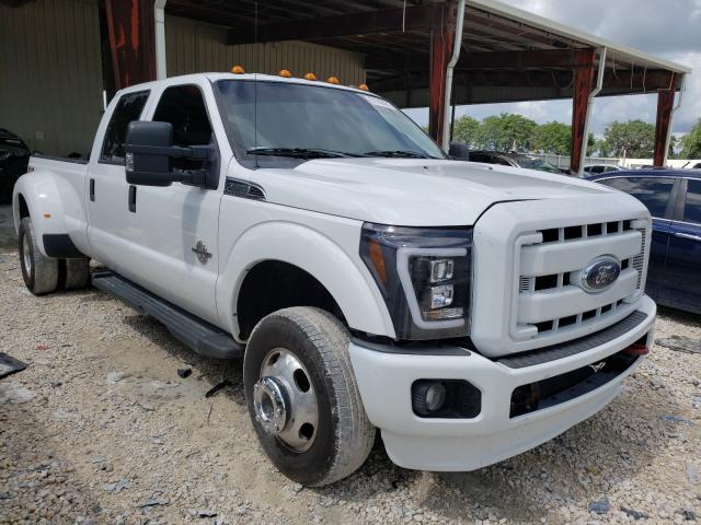Salvage cars for sale from Copart Homestead, FL: 2015 Ford F350 Super
