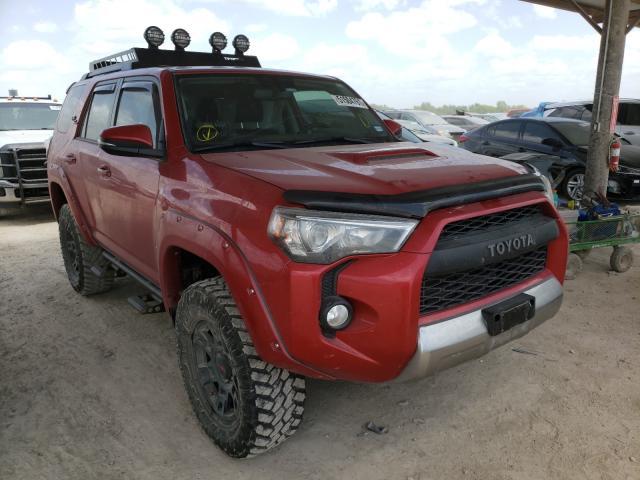 Vehiculos salvage en venta de Copart Temple, TX: 2019 Toyota 4runner SR