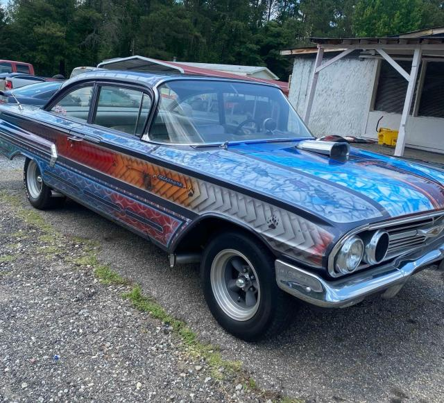 Chevrolet Biscayne salvage cars for sale: 1960 Chevrolet Biscayne