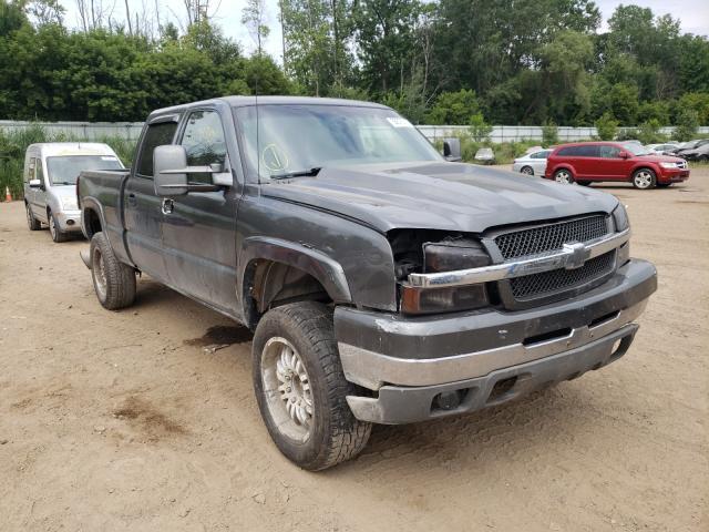Salvage cars for sale from Copart Davison, MI: 2004 Chevrolet Silverado