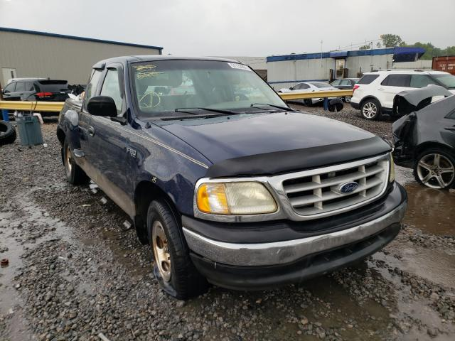 Salvage cars for sale from Copart Hueytown, AL: 2003 Ford F150