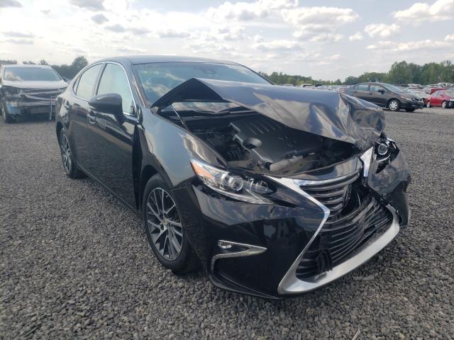 Salvage cars for sale from Copart Fredericksburg, VA: 2017 Lexus ES 350