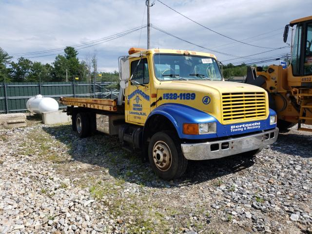 Salvage trucks for sale at Candia, NH auction: 2001 International 4000 4700