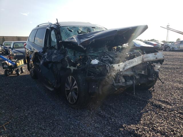 Salvage cars for sale from Copart Fredericksburg, VA: 2017 Nissan Pathfinder