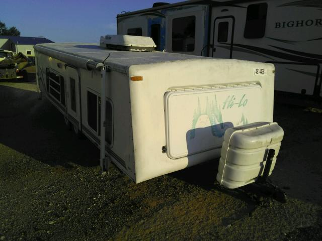 Salvage cars for sale from Copart Longview, TX: 2001 Towl Camper