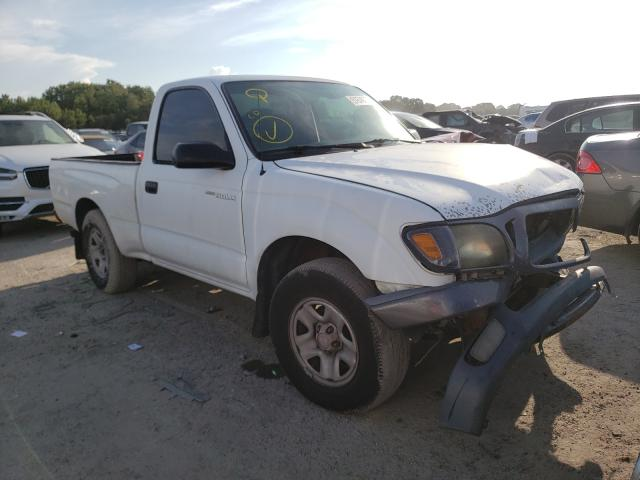 Salvage cars for sale from Copart Riverview, FL: 2002 Toyota Tacoma