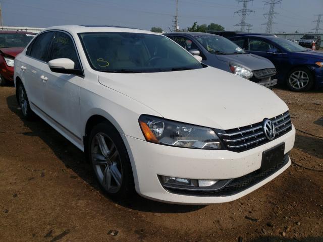 Vehiculos salvage en venta de Copart Elgin, IL: 2013 Volkswagen Passat SEL