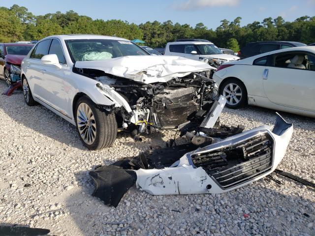 Genesis G90 Premium salvage cars for sale: 2019 Genesis G90 Premium