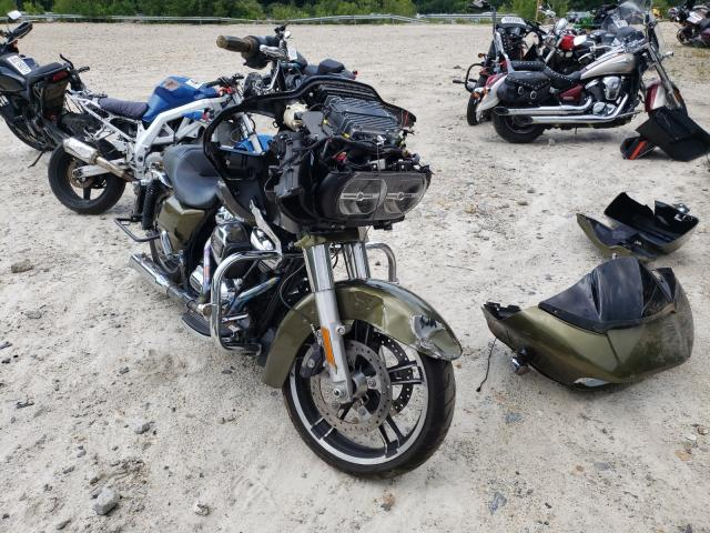 Salvage motorcycles for sale at Candia, NH auction: 2017 Harley-Davidson Fltrxs ROA
