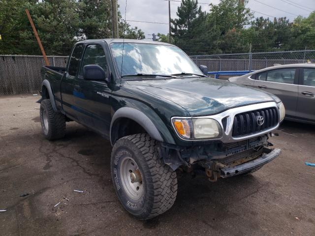Salvage cars for sale from Copart Denver, CO: 2003 Toyota Tacoma XTR