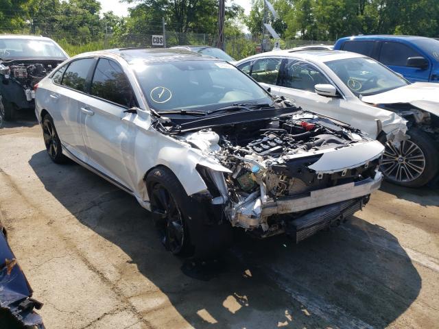 Salvage cars for sale from Copart Marlboro, NY: 2019 Honda Accord EXL