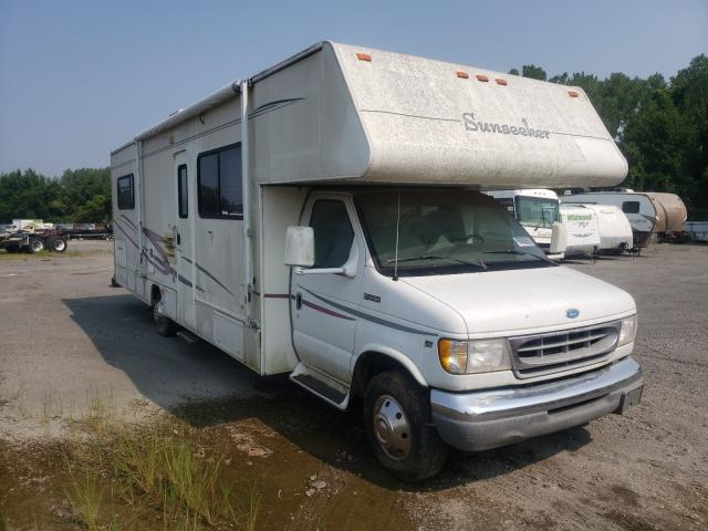 Salvage trucks for sale at Alorton, IL auction: 1997 Wildwood Sunseeker