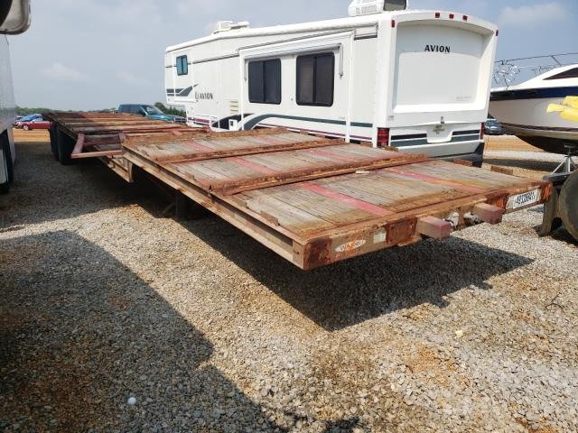 Trail King Vehiculos salvage en venta: 2018 Trail King Flat BED