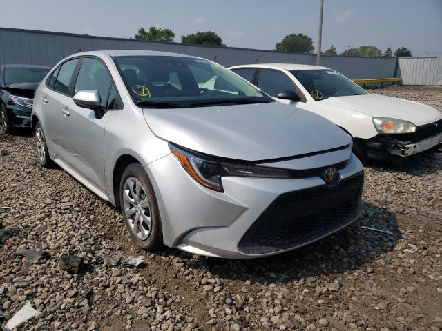 Salvage cars for sale from Copart Cudahy, WI: 2021 Toyota Corolla LE