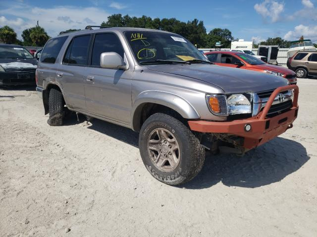 Salvage cars for sale from Copart Punta Gorda, FL: 2002 Toyota 4runner SR
