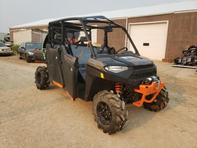 Salvage cars for sale from Copart Billings, MT: 2019 Polaris Ranger