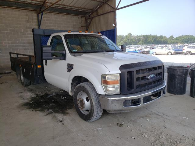 Salvage cars for sale from Copart Cartersville, GA: 2008 Ford F350 Super