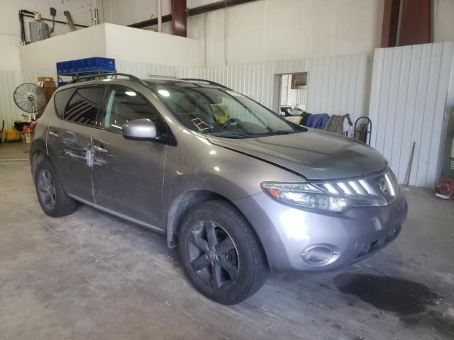 Salvage cars for sale from Copart Lufkin, TX: 2009 Nissan Murano S