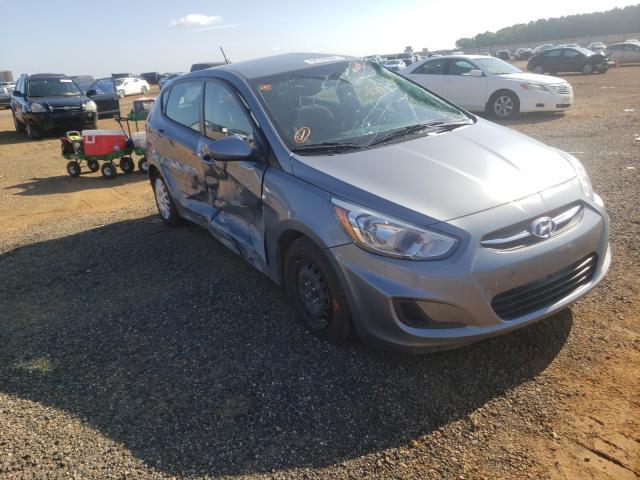 Vehiculos salvage en venta de Copart Longview, TX: 2017 Hyundai Accent SE
