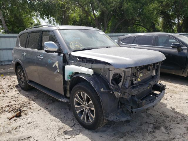Nissan Armada salvage cars for sale: 2018 Nissan Armada