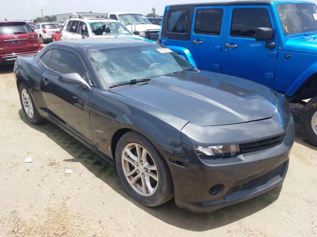 Salvage cars for sale from Copart Mercedes, TX: 2014 Chevrolet Camaro LS
