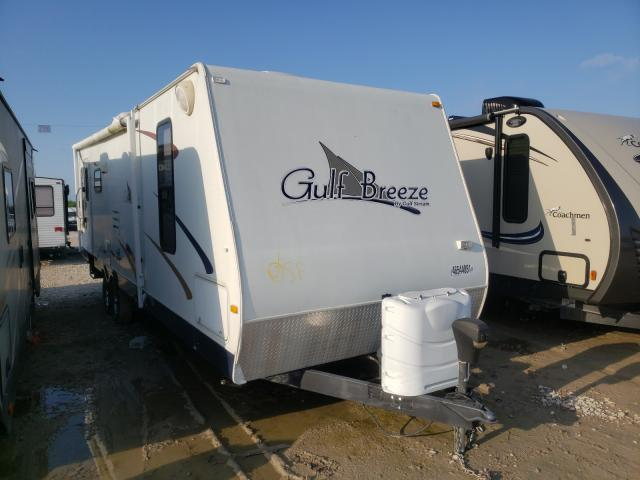 Gulf Stream salvage cars for sale: 2010 Gulf Stream Gulf Breez