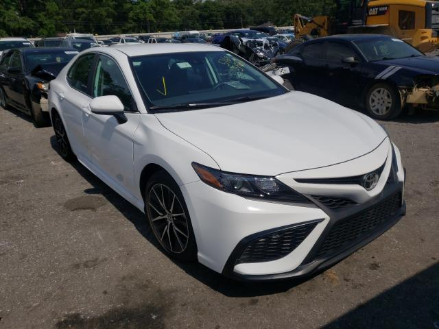 Salvage cars for sale from Copart Eight Mile, AL: 2021 Toyota Camry SE
